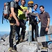 Den Gipfel haben wir exakt 5 3/4h nach unserem Start in Schwändi erreicht - Pausen inklusive.