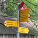 Underi Trift, alter Windeggweg - heute in der Karte nicht mehr als Wanderweg bezeichnet