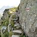 Abstieg von der Windegghütte