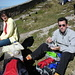 Mittagessen unter Touristen...