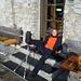 Auf der Priener Hütte trifft man auf verschollen geglaubte Mitstreiterinnen, die faul in der Sonne rumlümmeln anstatt aufn Berg zu gehen :-)
