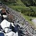 <b>La diga del Gepatschspeicher, alta 153 m, costruita con pietre naturali.</b>