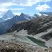 imposante Bergwelt - Wasser, Berge und die verschiedensten Gesteinsarten