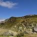 im Einzugsgebiet der Salbithütte (hinter dem Hügel)
