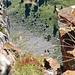 Tiefblick vom Zuestoll Gipfel (Südwand)