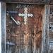 Tür der Stoaner Alm