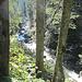 entlang des Garnitzenbachs beginnt der Aufstieg
