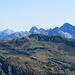 drei markante Gipfel