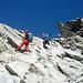 Wieder beim Abstieg vom Brunnipass = Kraxelspass :-))