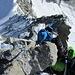 Im Abstieg vom Ober Gabelhorn