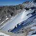 noch ein Blick zurück auf den Bella Tola-Gletscher