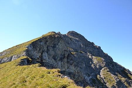 Die letzten Höhenmeter zum Gipfel.