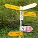 Wegweiser Gigerwaldstaumauer