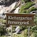 <b>Klettergarten Fernergriess.</b>