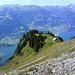 Abstieg zur Alp Tschingla.