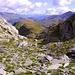 Alpetlistock 2393m. con l' Äussere Schwarzhörner 2891m. sullo sfondo a destra