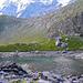 Oberhornsee mit niedrigem Wasserstand