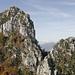 Die Denti della Vecchia sind bekannt als Klettergebiet