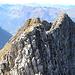 Der schmale und exponierte Grat auf den Hoh Brisen 2413m