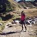 La grintosa climber nei paraggi dell'Alpe Tremorgio