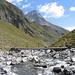 Steg über den Stutzbach, Teurihorn 2973m