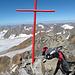 Das kleine aber feine Kreuz auf dem Hauptgipfel