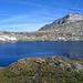 Der fantastisch schöne Lago Retico, hinten der Pass Cristallina