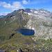 Lago Retico mit Cima della Bianca und Scopi