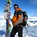 [U Cyrill] @ Piz Terza. Auf dem Gipfel hat es auch ein Kuckuck-Häuschen.