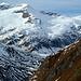 Gletscherberge über dem Maurertal. Simonykees links und Maurerkees rechts.