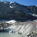 Der Gletschersee unter der Clariden-Nordwand