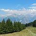 Am Wendepunkt: Aussicht zu Joli- und Bietschtal - Bietschhorn nun leider in Wolken