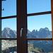 Dalla finestra il Catinaccio