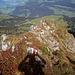bereits wieder auf dem [http://www.hikr.org/gallery/photo922776.html?post_id=56489#1 Felskopf] wo zur Sicherheit ein Drahtseil angebracht wurde