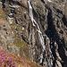Wasserfall neben der Winnebachseehütte.