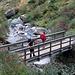 Il ponte sul Loranco nei pressi dell'Alpe del Gabbio.