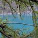 Il lago ha un colore magnifico.