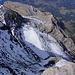 Tiefsicht Richtung Norden vom Gipfel auf den Glacier de Pierredar