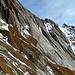 Während des Steilaufstiegs sieht man östlich die Bretterwand.
