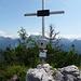 Am Gipfel des Dietrichshorn - Im Hintergrund Reiter Alm