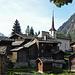 Der alte Dorfteil von Blatten