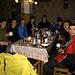 Eine Gruppe von Ukrainern, die für einige Tage zum Wandern in Sarosliak sind.