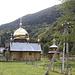 Eine orthodoxe Kirche im Theiß-Tal.