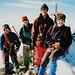 Gipfelfoto 1995.... Die Motorradjacke habe ich immer noch....