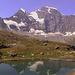 Lac de Tsofeiret mit dem Grand Combin-Massiv