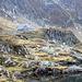 Die Podragu-Hütte könnte auch in den Alpen stehen.