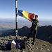 Mit der rumänischen Flagge auf dem Vistea Mare.