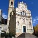 Chiesa Parrocchiale di S. Caterina. Der Kirchplatz ist jeden Sommer Schauplatz eines Kammermusik-Festivals