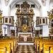 Die kirche vom Kloster Kleinholz von innen