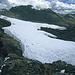 Der Pastoruri-Gletscher. Der Berg im Hintergrund ist der Nevado Tuco (5479m).